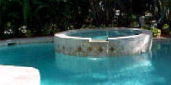 swimming pool plans with spa